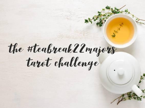 tea break tarot majors challenge